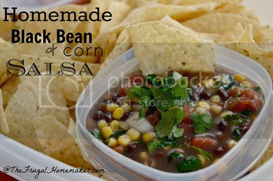 Homemade Black Bean and Corn Salsa thumb zpscb30fe47 Quick and Easy Recipes for your Super Bowl Party