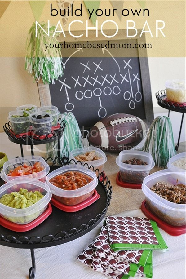 nacho bar zps77b1be1d Quick and Easy Recipes for your Super Bowl Party