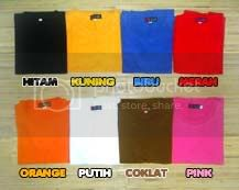 Warna Kaos Anak