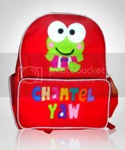 tas,anak,flanel,keroppi