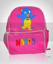 tas,lucu,flanel,pablo,backyardigans
