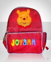 tas anak lucu,winnie the pooh